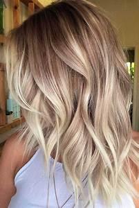 Blonde Mittellange Haare : die besten 25 mittellange blonde ideen auf pinterest mittelblond bob mittelblondes haar und ~ Frokenaadalensverden.com Haus und Dekorationen