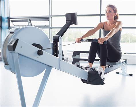 Row The Boat Exercise by Rowing Machine Interval Workout Popsugar Fitness