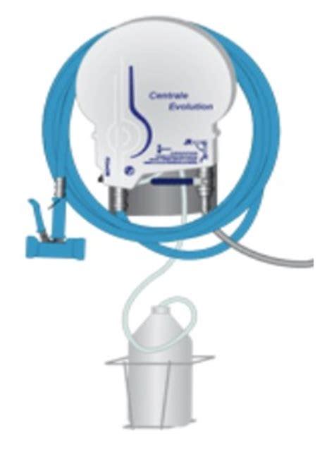 centrale de nettoyage cuisine enrouleurs et centrale de lavage bime