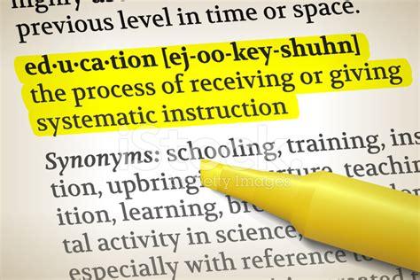 education dictionary definition royalty  vector