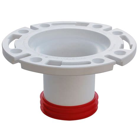 Closet Flanges by 3 In Pvc Dwv Closet Flange 888 Gpm The Home Depot