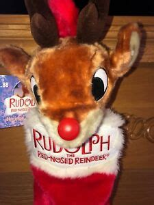 Then one foggy christmas eve santa came to say rudolph with your nose. Rudolph the Red Nosed Reindeer Gemmy Christmas Stocking ...