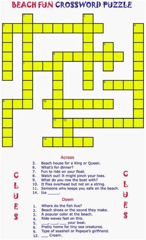 printable crossword puzzles elder care dementia care activities pinterest printable