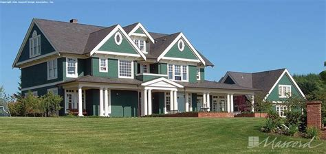 Country House Plan 2418 The Parnell: 5180 Sqft 4 Beds 4