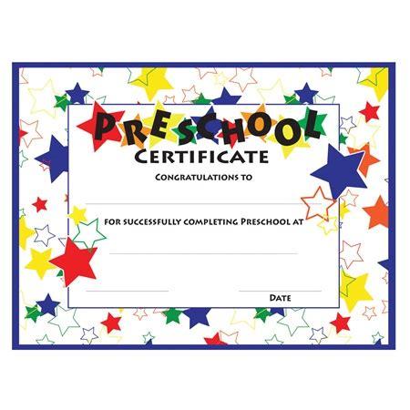 color craze preschool certificates 30 pkg s 881   kg607 color craze stars preschool certificates 30 pkg 000