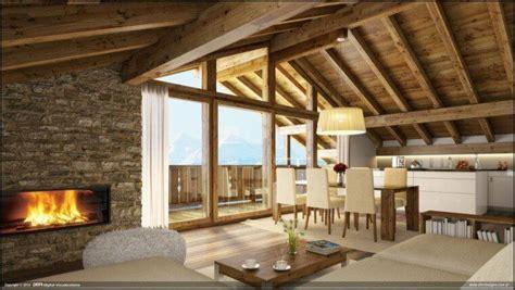 comment decorer sa cuisine intérieur maison bois quel type de bois à choisir