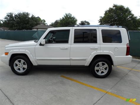 commander jeep 2010 stone white 2010 jeep commander limited exterior photo