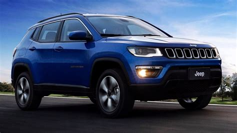 jeep compass limited blue 2017 jeep compass launched price variants interior