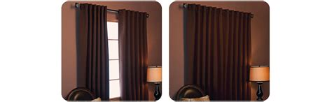 best home fashion solid thermal insulated blackout curtain