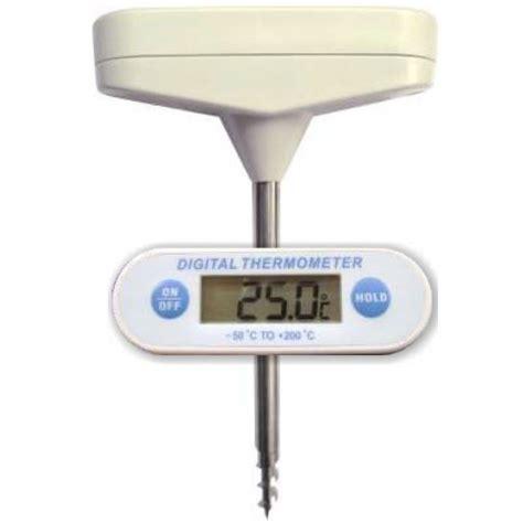 sonde cuisine thermomètre sonde digital et vissable cuisineaddict com