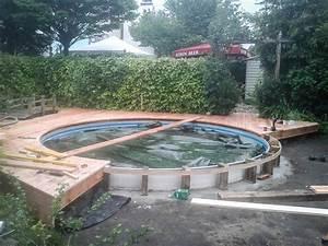 Pool Mit Holzterrasse : poolumrandung bauen die neueste innovation der innenarchitektur und m bel ~ Sanjose-hotels-ca.com Haus und Dekorationen