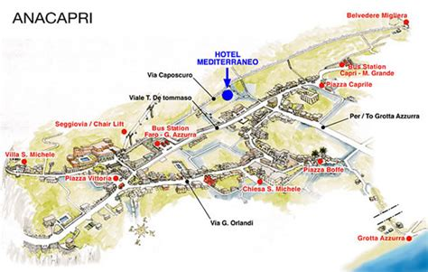 location si e b hotel mediterraneo bed and breakfast ad anacapri b b