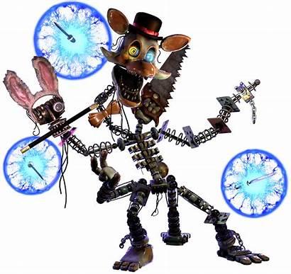 Mangle Villains Fandom Magician Wiki Foxy