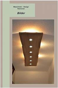 Treibholz Lampe Decke : deckenlampen massiv holz design decken lampe ein designerst ck von massivholzdesignhannover ~ Frokenaadalensverden.com Haus und Dekorationen