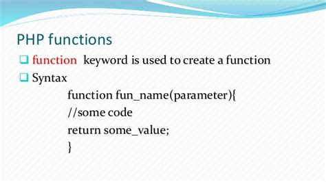 finction for creating an array from multiple form posts php technical presentation