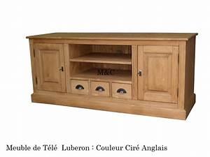 Meuble Tele En Bois : meuble tv pin massif ~ Melissatoandfro.com Idées de Décoration