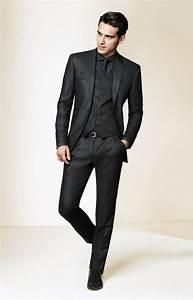 Costume Homme 2017 : le costume gris anthracite homme en 40 photos ~ Preciouscoupons.com Idées de Décoration