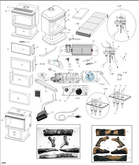 Majestic Rfsdv Parts List Diagram