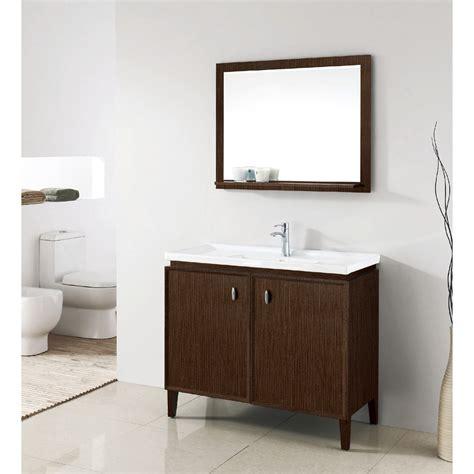 designer bathroom vanity statesman 40 inch modern single sink bathroom vanity