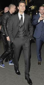 Scott Disick Suited Up in London for Eleven Paris Store ...