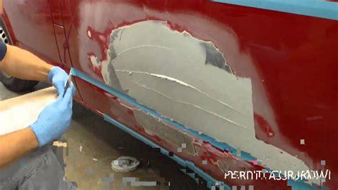 stucco da carrozziere intervento di riparazione ribattitura stuccatura