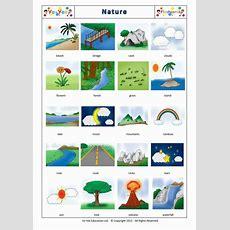 Nature Flashcards For Children  Nature  Teaching Nature Vocabulary