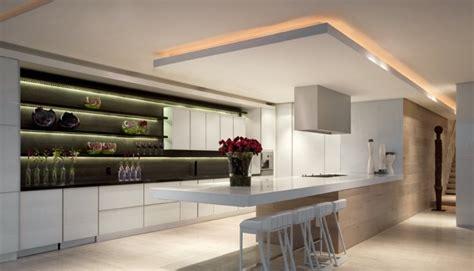 plafond de cuisine design tout savoir sur les faux plafonds de cuisine faux