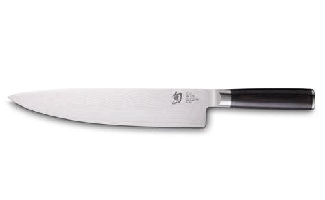 couteaux cuisine shun damas 25 cm couteau de cuisine colichef