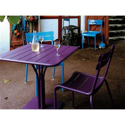 chaise de jardin aluminium emejing table de jardin aluminium fermob gallery amazing