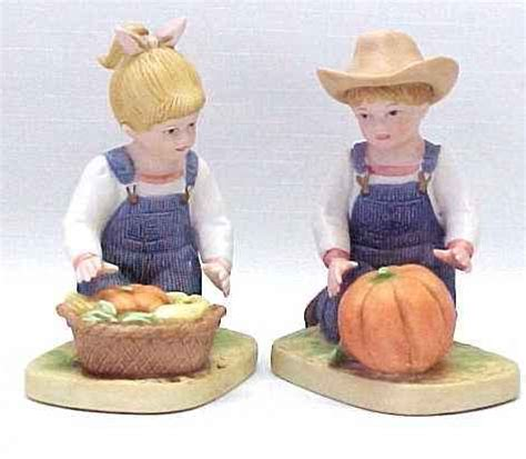 home interior denim days figurines homco denim days 1985 boy figurines home interior