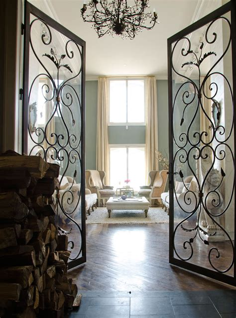 Interior Iron Doors by The Times New Luxe Living Erin Fetherston S New