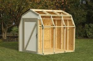 2x4basics 174 barn roof shed kit at menards 174