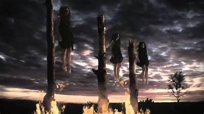 Horror American Story Coven Witches Wallpapers Burning