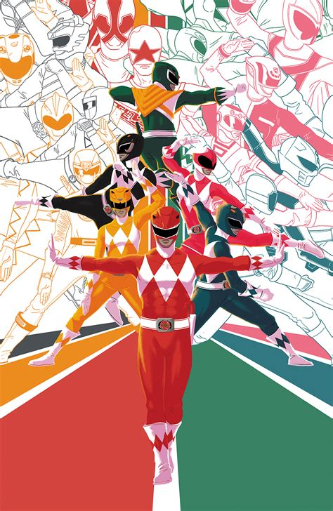 FEB181197 - MIGHTY MORPHIN POWER RANGERS 2018 ANNUAL #1 25 ...
