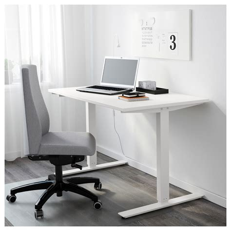 bureau assis debout ikea skarsta bureau assis debout blanc 120x70 cm ikea