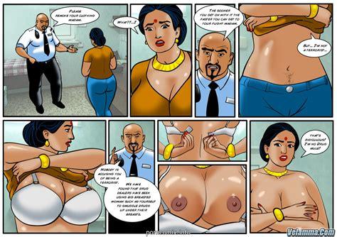 Velamma Cocks In The Cockpit • Porn Comics One