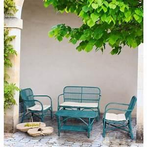 Salon De Jardin Design Pas Cher : salon de jardin design rosita atylia salon de jardin atylia ventes pas ~ Teatrodelosmanantiales.com Idées de Décoration