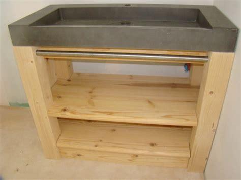 mobilier table fabriquer meuble sous vasque
