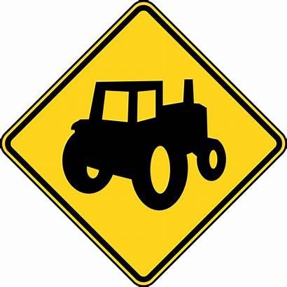Construction Clip Signs Sign Farm Clipart Road