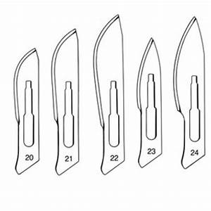 Surgeon Sterile Carbon Steel Scalpel Blades