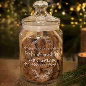 Www Personello De : personello personalisierbares keksglas frohe weihnachten online kaufen online shop ~ Markanthonyermac.com Haus und Dekorationen