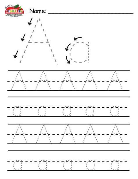 printable alphabet letter tracing worksheets letter