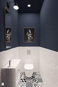 les carreaux de ciment et le carrelage metro apportent une With quelle couleur pour les wc 1 photo wc et sanitaire et vintage deco photo deco fr