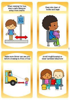 school bus rules  safety  ccs classroom creations tpt