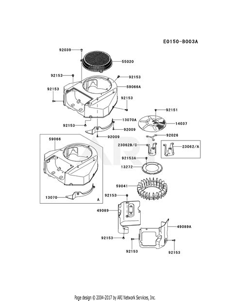 kawasaki fsv   stroke engine fsv parts diagram