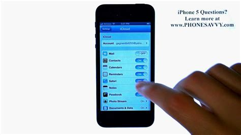 how to backup iphone 5 to icloud apple iphone 5 ios6 how to backup contacts to icloud