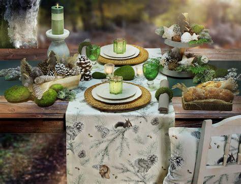 Tisch Eindecken Weihnachten by Herbst Winter Tisch Decken