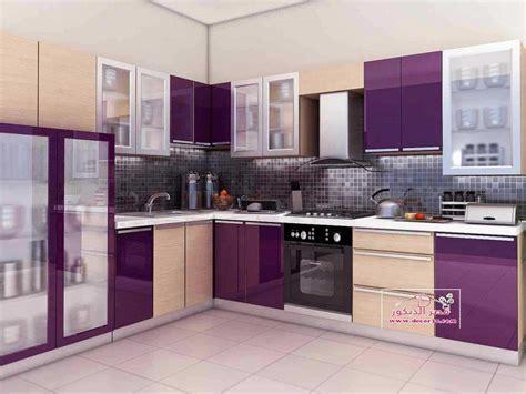 sor mtabkh alomytal mof kitchens alumital  purple ksr