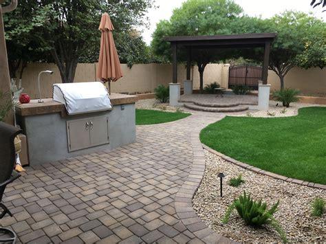Arizona Backyard Landscape Ideas by Poolside Plants For Arizona Landscape Design