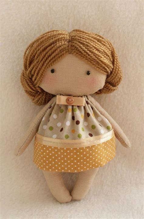 diy doll making kit olie doll easy   tilda style